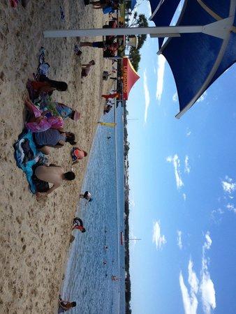 The Rockpools: Patrolled safe beach area