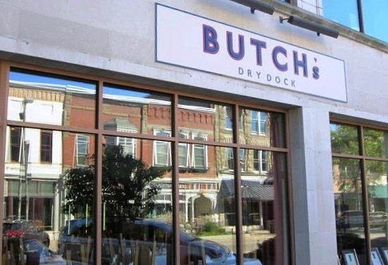 Butch's Dry Dock: Street Entrance