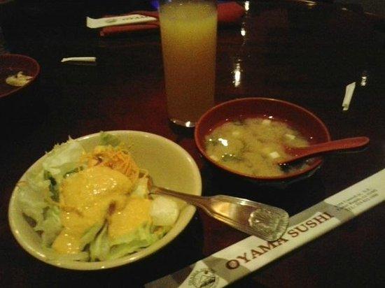 Oyama Sushi: Entrada
