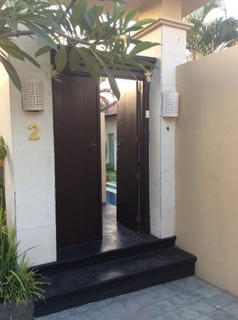 RC Villas & Spa: Entrance to our villa