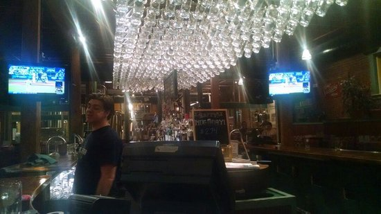 Springfield Brewing Co: View from the bar