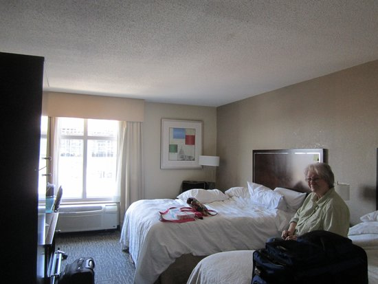 Hampton Inn Washington, DC - Convention Center: double beds