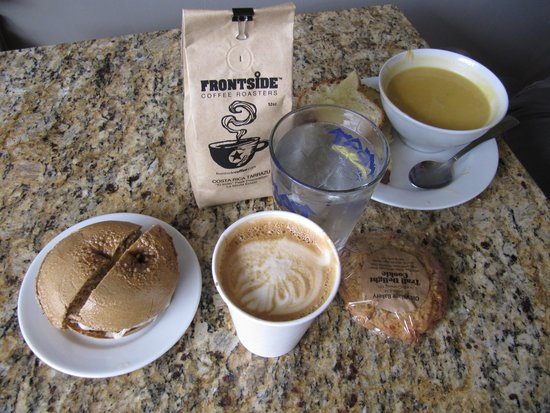 Frontside Coffee Roasters: The soup, the sandwich and the Grind