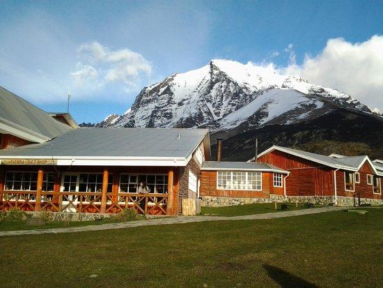 Las Torres Patagonia : Vista de fora do hotel