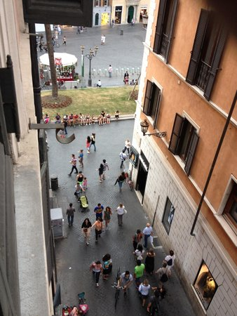 """Internazionale Domus : """"View"""" from our room"""