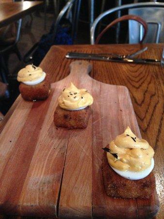 Resto: devilled eggs