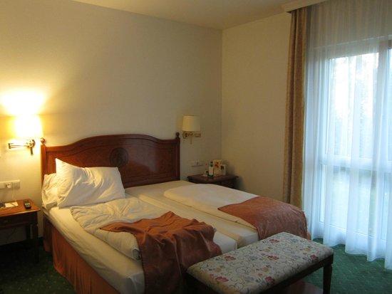 Hotel Prinzregent: bed area