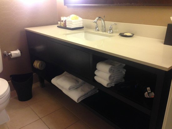Sheraton Pleasanton Hotel : the bathroom