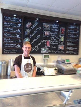 Black Olive Delicatessen: Friendly staff