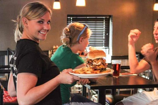 Food & Fire BBQ Restaurant: Service with a smile--every time!