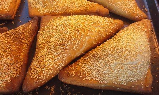 Walla Artisan Bakery & Cafe: Cheese and Dill Bourekas