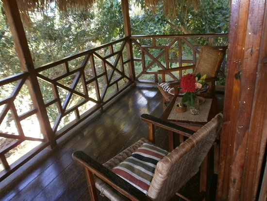 Ital Rest Cottages : ocean view balcony