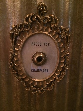 Montage Beverly Hills : Press this button for champagne.