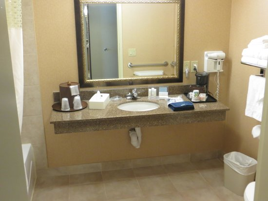 Hampton Inn And Suites Montreal: Bathroom