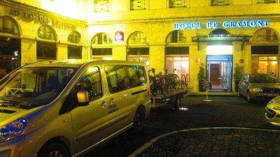 Hôtel de Gramont : Hotel Gramont twowheeltours