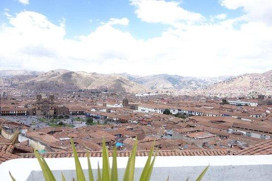 Hostal Casa del Inka: 宿屋上からの眺め(*´▽`*)