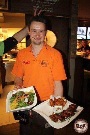 Rox Bar & Grill: Freundliche Mitarbeiter