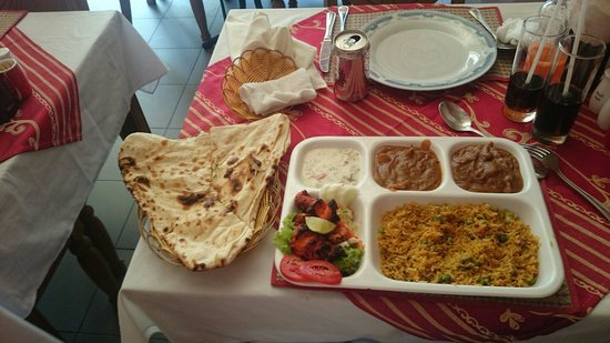 Omar's Tandoori cafe: Seafood Set
