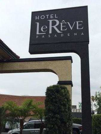 Hotel Le Reve Pasadena: Hotel La Reve Entrance