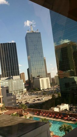 The Fairmont Dallas: View