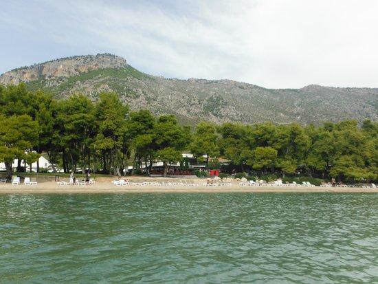 Club Med Gregolimano: Resort from ocean