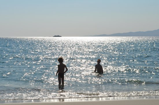 Summerland  Holiday's Resort: Kastraki beach at best part - about 500 meters from hotel