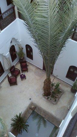 Riad Elias: vue prise de la terrasse