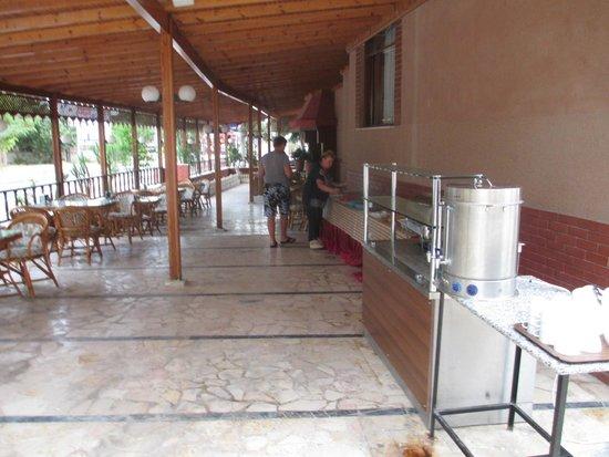 Duman Hotel: весь завтрак