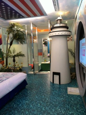 Sato Castle Motel: the sailor theme room