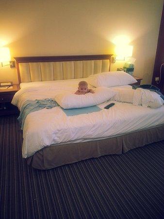 Mutiara Johor Bahru: Spacious room with a single (king-sized) bed