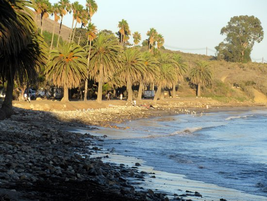 Refugio State Park and Beach, Goleta, Ca