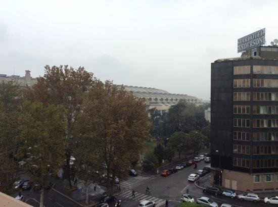 Hotel Bristol Milan: view from the terrace