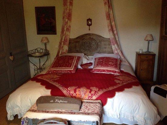 Ferme De Valpierre : La chambre du curé