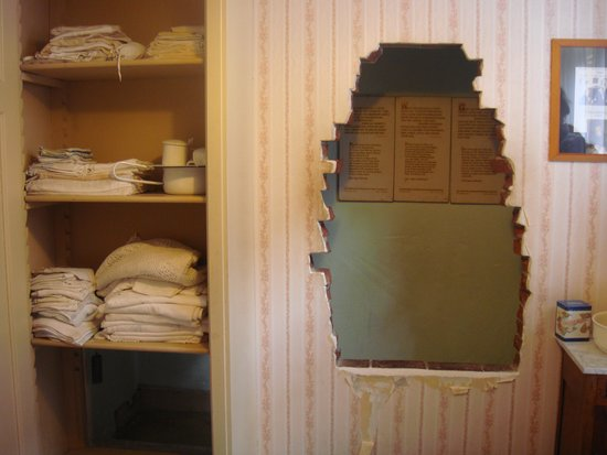 The Corrie Ten Boom House Hiding Place With Linen Cupboard Enterance