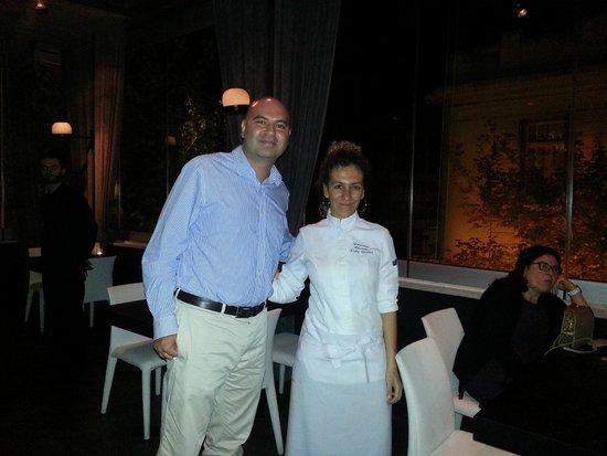 With co-owner and head chef Ms. Georgianna Hiliadaki