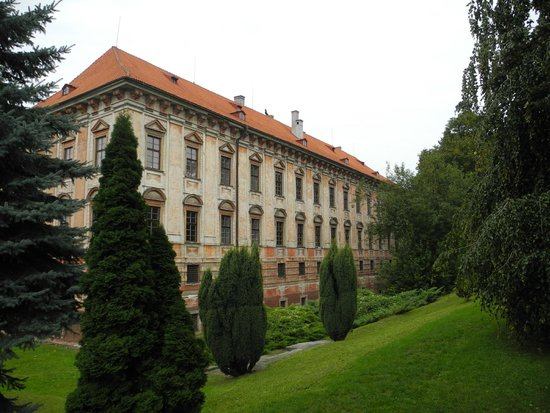 Roudnice nad Labem, Czech Republic: Roudnice Castle - outside view