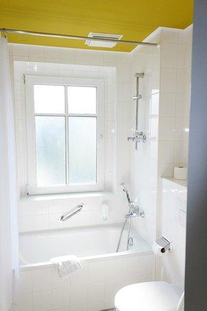 Rathaushotels: Badezimmer
