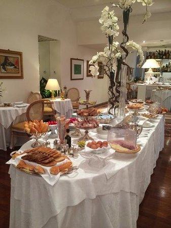 Grand Hotel Passetto: Frühstücksbüffet