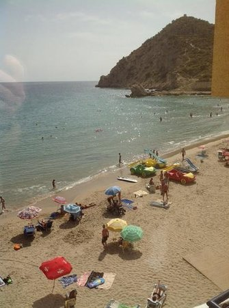 Hotel La Cala: View from my balcony.