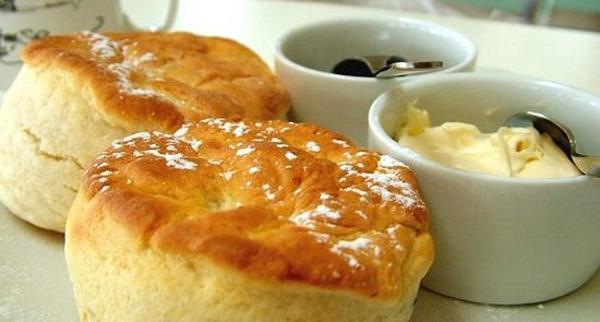 The Guardhouse Cafe: Cream tea