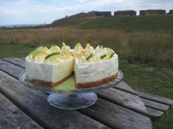 The Guardhouse Cafe: Lime & Ginger cheesecake