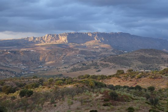 Almogia, Spain: El Torcal from our Room