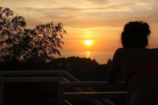 Hotel Moana : sunset from junior suite