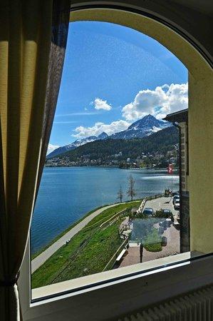 Restaurant Waldhaus am See : Die Aussicht