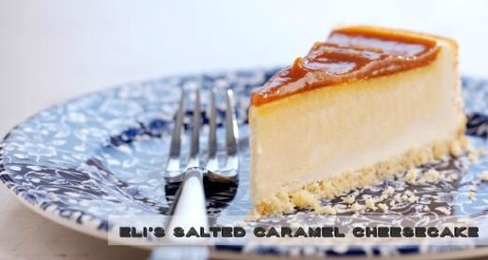The Old Swan: Eli's Salted Caramel Cheesecake