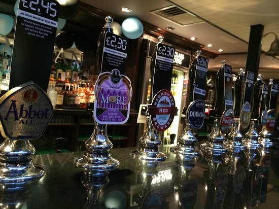 The Old Swan: Our ales