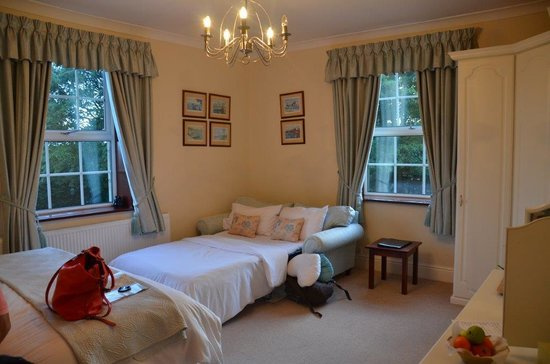 Hedley Hall: chambre familiale