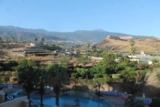 diverhotel Tenerife Spa & Garden: Preciosas vistas