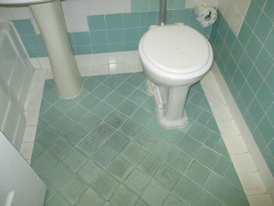 Tropics Hotel & Hostel: Badezimmerboden