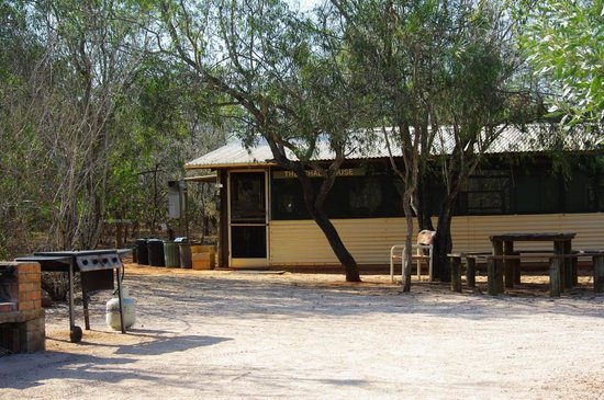 Broome Bird Observatory: Shade house